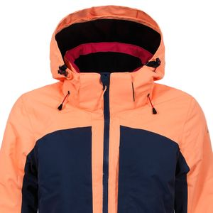 Icepeak Kate Jacket Damen Skijacke pink navy orange  – Bild 2