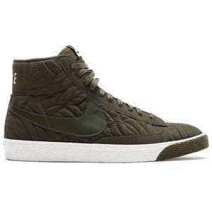 Nike WMNS Blazer Mid PRM SE Damen Sneaker oliv weiß – Bild 1