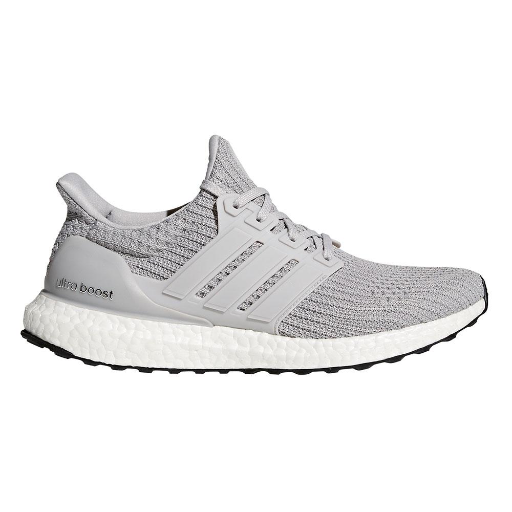 adidas Ultra Boost M Herren Running Sneaker grau weiß