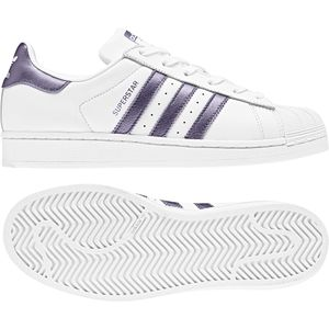 adidas Originals Superstar W Sneaker weiß lila – Bild 2