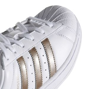 adidas Originals Superstar W Sneaker weiß bronze  – Bild 6