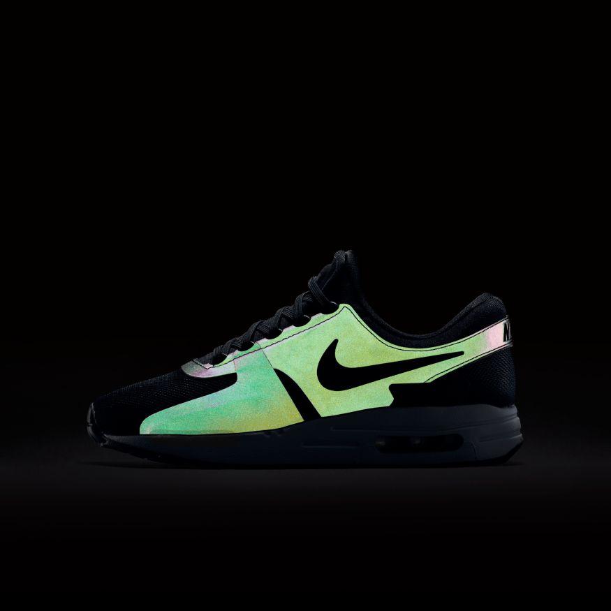3844f27e279b Nike Air Max Zero SE (GS) Sneaker schwarz weiß – Bild 4
