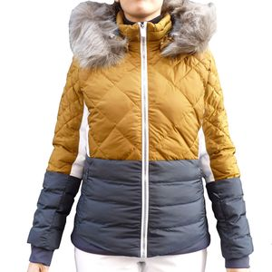 West Scout Candy Fellex Ski Jacket Damen Skijacke bronze navy – Bild 1
