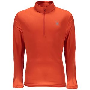 Spyder Limitless 1/4 Zip Dry W.E.B. T-Neck™ Herren Skirolli orange – Bild 1
