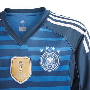 adidas DFB Home Goalkeeper Jersey Youth WM 2018 blau – Bild 2