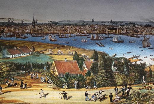 Flensburg um 1880 Quelle: Schifffahrtsmuseum