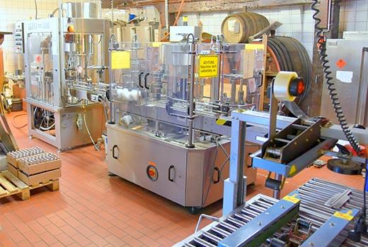 Besichtigung der Produktion
