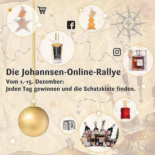 Die Johannsen-Online-Rallye