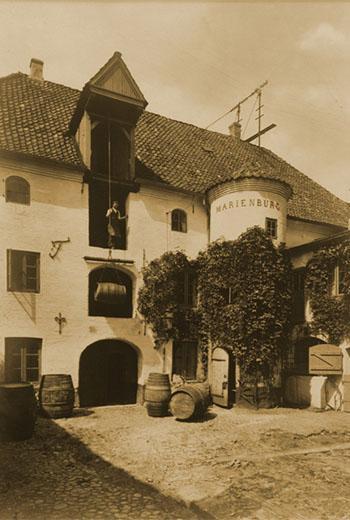Die Marienburg um 1910