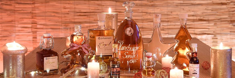Weihnachtliches von Johannsen Rum