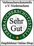 Zertifizierungsbestätigung Verbraucherschutzstelle Niedersachsen