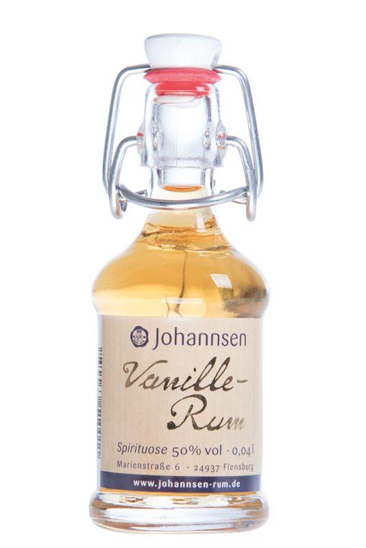 Vanille-Rum, 50% vol, 0,04 l