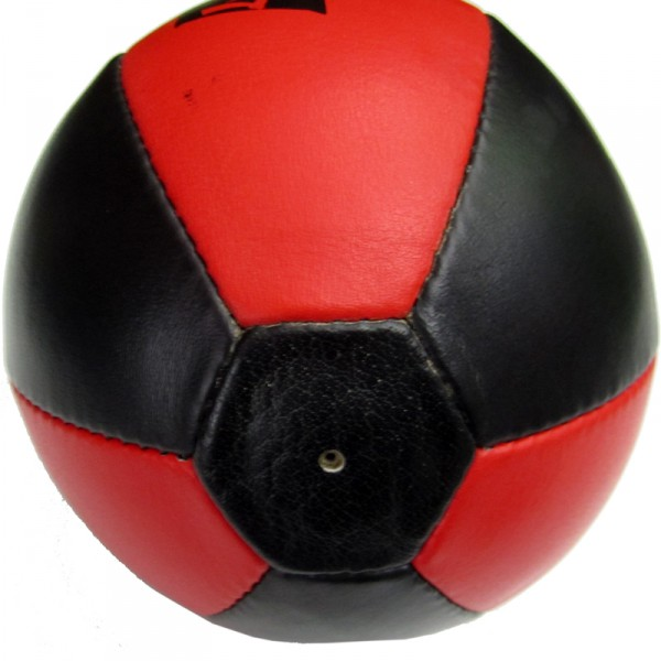 4Fighter PRO leather Trainings speedball / punching ball black-red – image 5