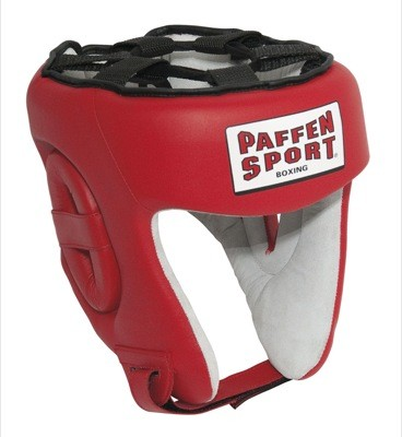 Paffen Sport Contest Competition headguard red without seal of approval