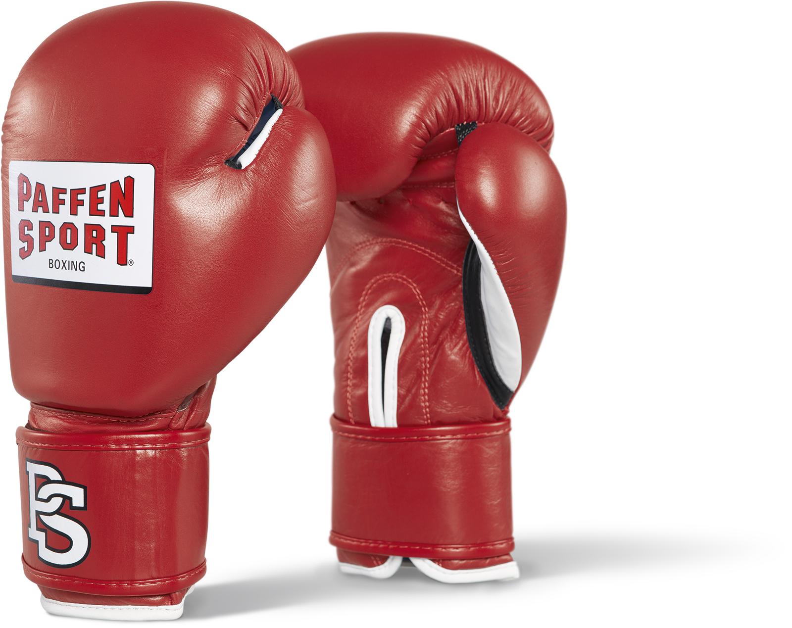 Paffen Sport Contest Handschuhe für den Wettkampf rot mit DBV Prüfmarke