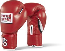Paffen Sport Contest competition gloves red with DBV inspection sticker 001