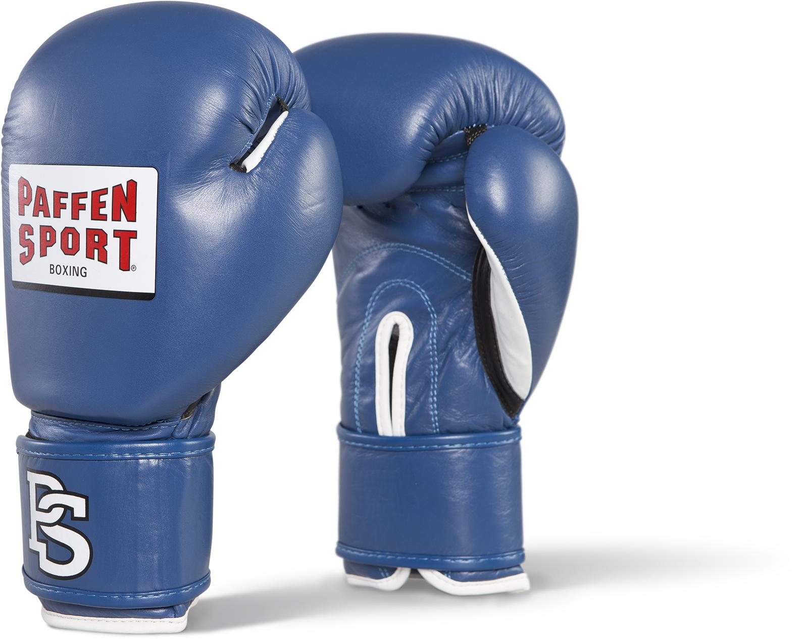 Paffen Sport Contest Handschuhe für den Wettkampf blau mit DBV Prüfmarke