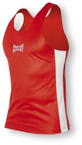 Paffen Sport Contest Boxerhemd rot/weiß