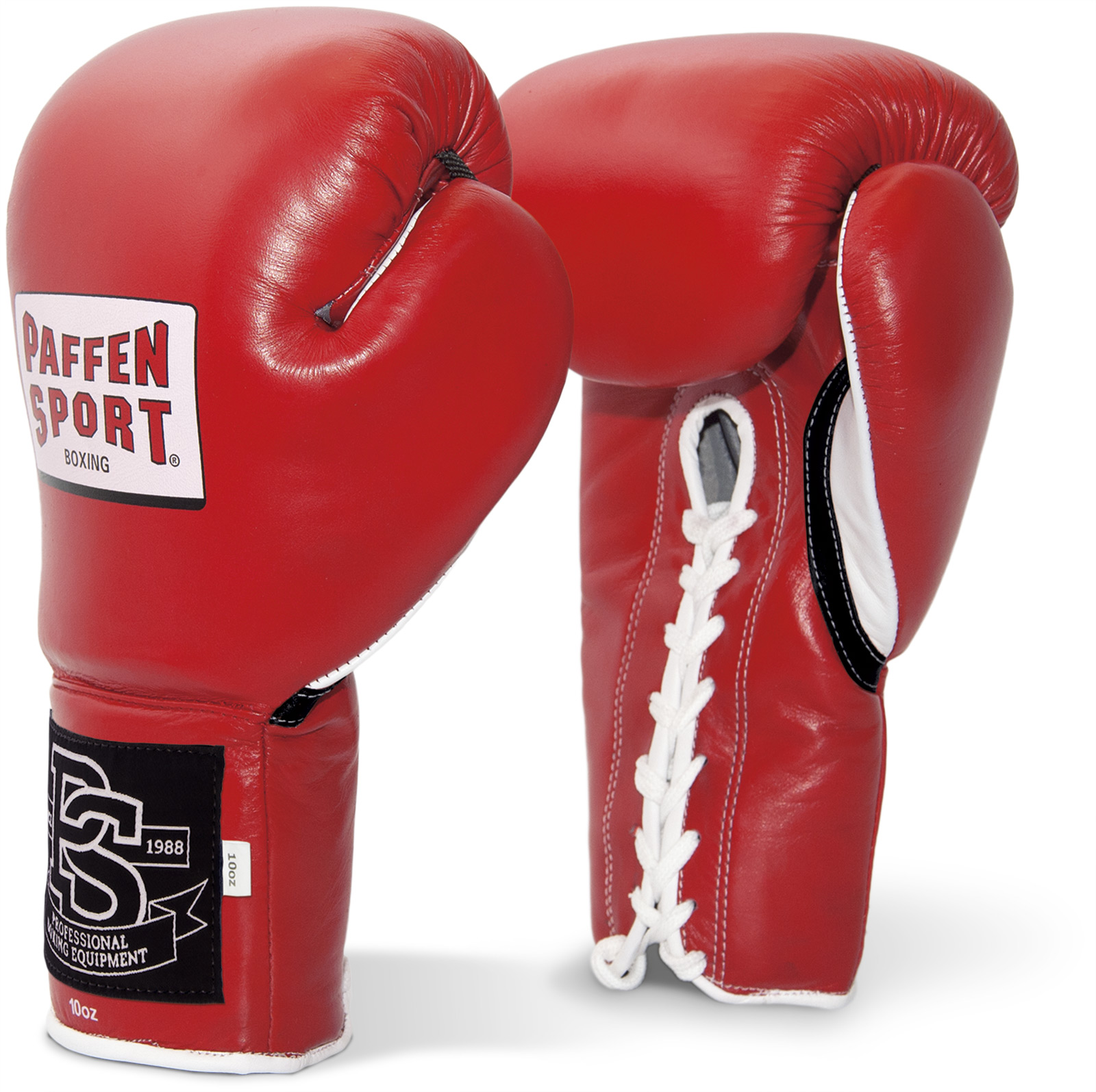 Paffen Sport Gloves Review: Paffen Sport Contest Professional Boxing Gloves Red