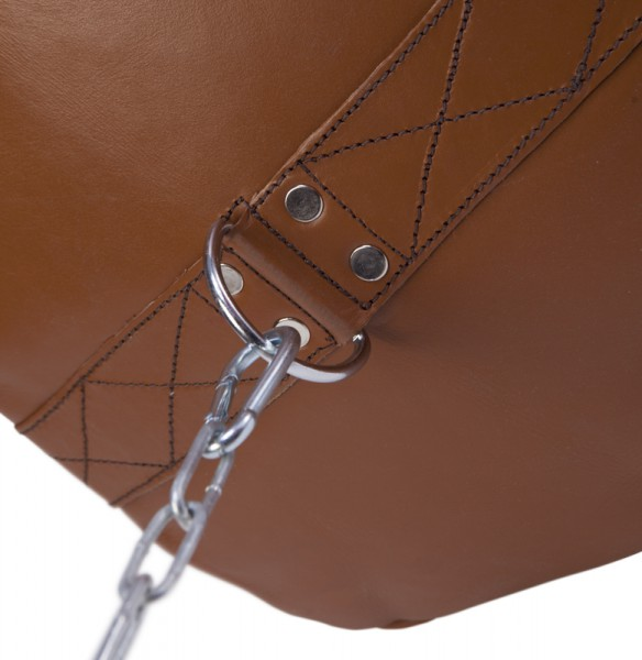 Paffen-Sport The Traditional Boxsack, braun, gefüllt, 120cm, 45kg – Bild 2