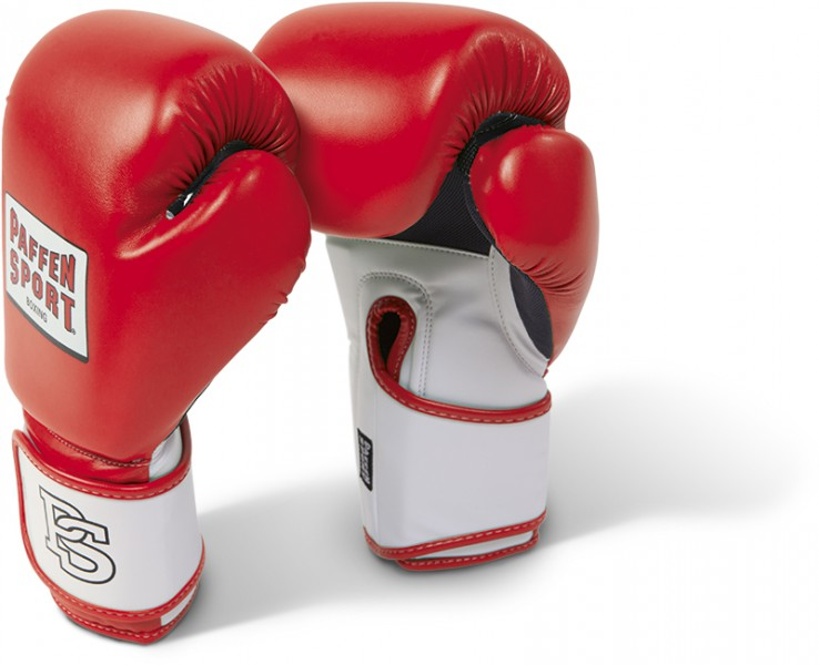 Paffen-Sport Fit Boxing Gloves for training red / white 10-16Oz