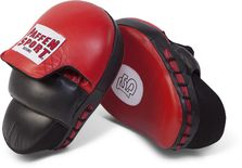 Paffen-Sport Coach Xtra Pad hand mitts red/black
