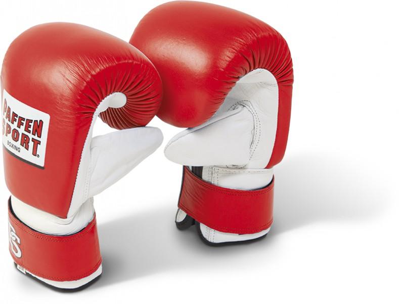 Paffen-Sport Pro Boxsackhandschuhe rot/weiss