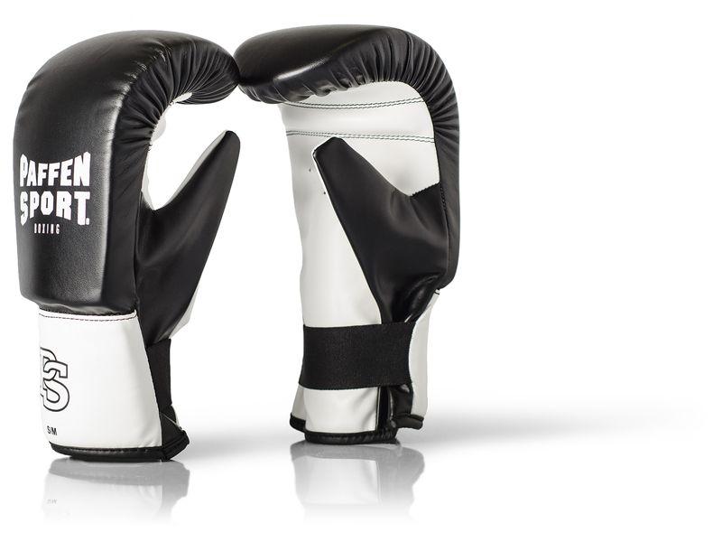 Paffen-Sport Fit Boxsack-Handschuhe schwarz/weiß