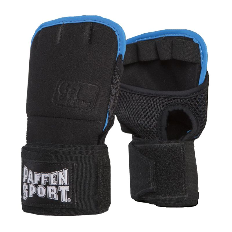 Paffen-Sport Gel Wrap / Hand wrap with gel pad black / blue 2,5m