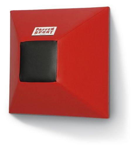 Paffen-Sport Pyramids wall shock pad , red/black