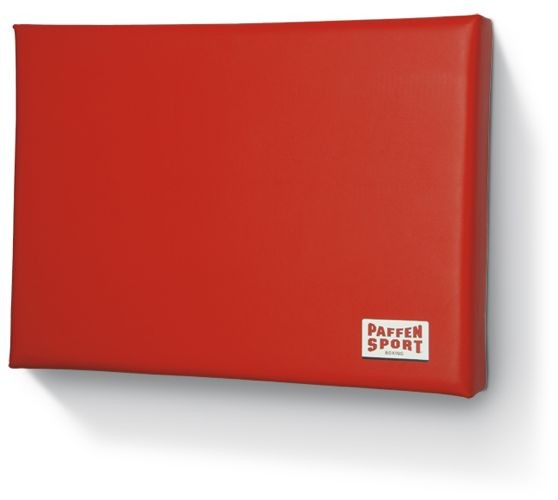 Paffen-Sport Rectangular wall shock pad , red