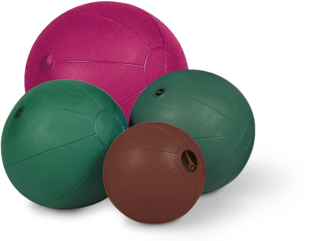 Paffen-Sport Fit medicine ball, brown, 3,0kg