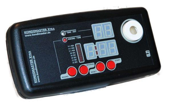 Boxtimer KondiMaster XTRA mit digitalem Display für Zeit- und Rundencountdown. – Bild 1