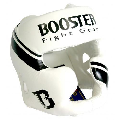 Booster Pro Range MMA Kopfschutz BHG-1 weiß S-XL Kunstleder