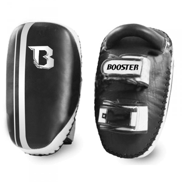 Booster Pro Range arm pads PAO BKPL-2 M size M black leather
