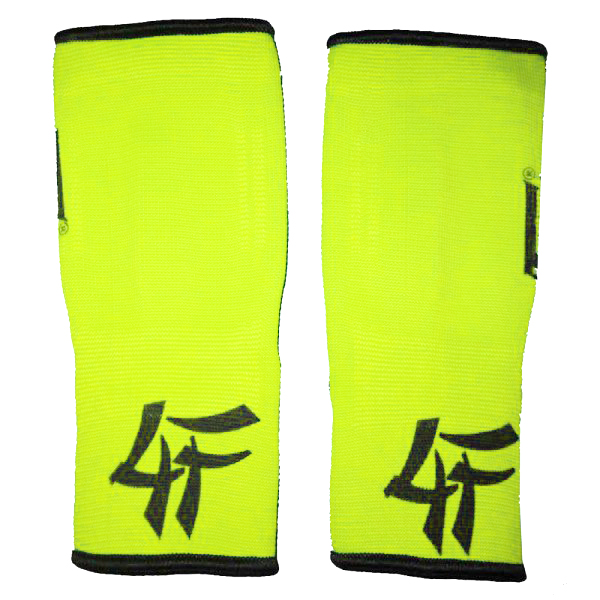 4FIGHTER ankle guards / ankle support neon yellow – image 2