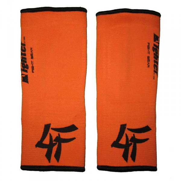 4FIGHTER ankle guards / ankle support neon orange with black innovativ Outlines – image 2