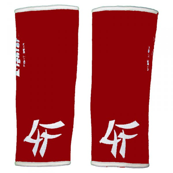 4FIGHTER ankle guards / ankle support red with white innovativ Outlines – image 2