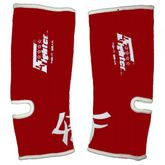 4FIGHTER ankle guards / ankle support red with white innovativ Outlines