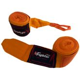 4Fighter Box bandages / handwraps 460cm elastic orange