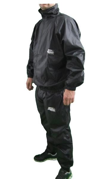 4Fighter Schwitzanzug für das Training / für effektive Gewichtsreduktion in schwarz