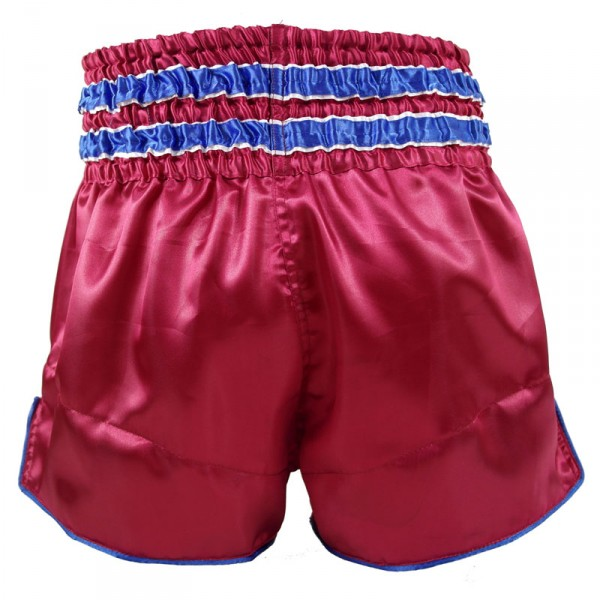 4Fighter Muay Thai Shorts National Serbien im Design des Nationaltrikots – Bild 2