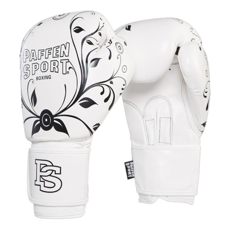 Paffen-Sport Lady Frauenboxhandschuhe weiß/schwarz