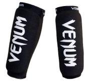 Venum Schienbeinschützer ohne Spann elastisch  mit Venum  Logo schwarz