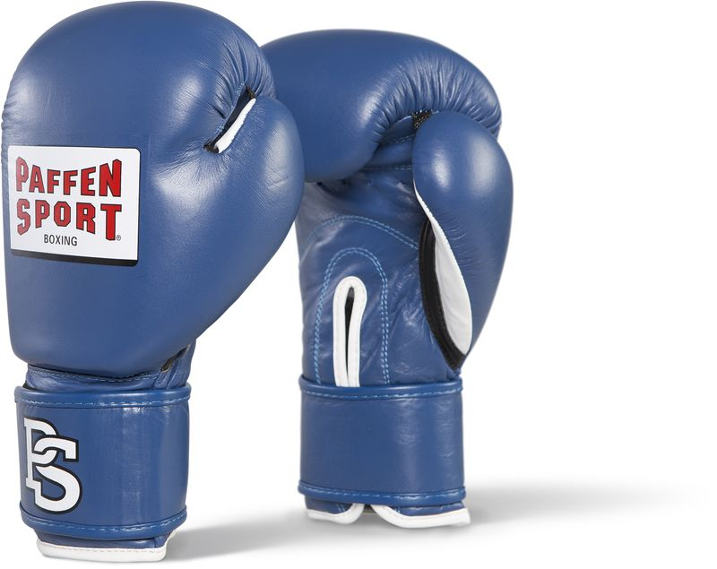 Paffen Sport Contest competition gloves blue without DBV inspection sticker