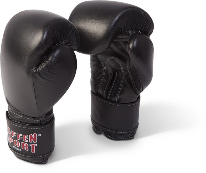 Paffen-Sport Kibo Fight Boxhandschuhe für das Sparring, schwarz, 8-18UZ – Bild 1