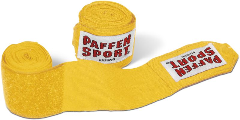 Paffen Sport Boxing hand wraps yellow 3,5 m