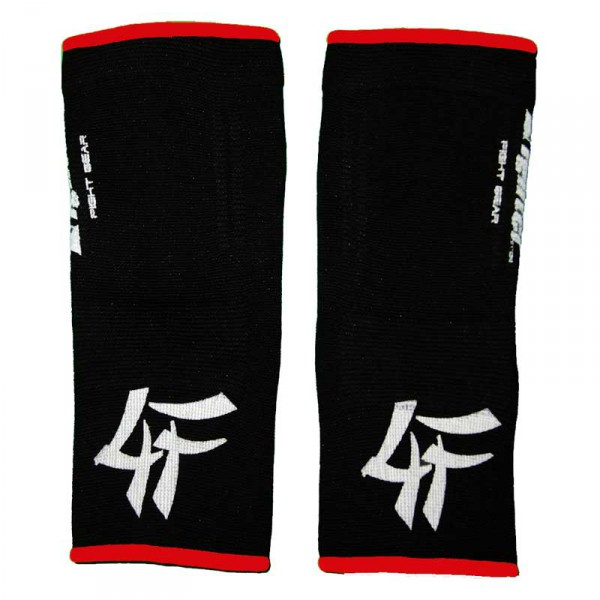 4FIGHTER ankle guards / ankle support black with red Outlines – image 2
