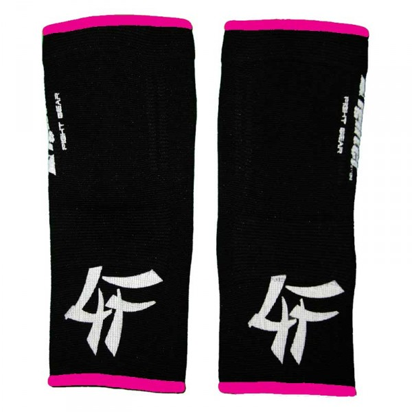 4FIGHTER ankle guards / ankle support black with pink Outlines – image 2