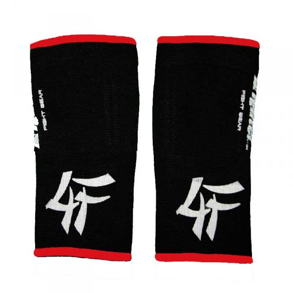 4FIGHTER KIDS ankle guards / ankle support 4FAG black with red outlines – image 2